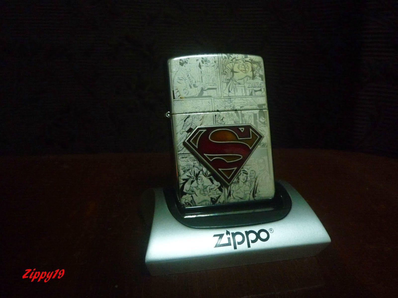 Superman Zippo Zippo Zippo Lighter Cool Stuff
