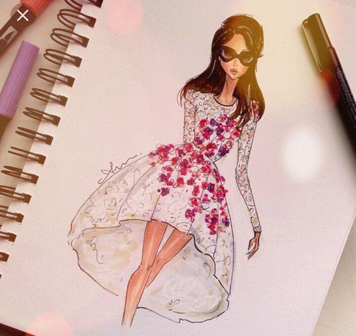 Pin de амина en fashion sketch   Pinterest