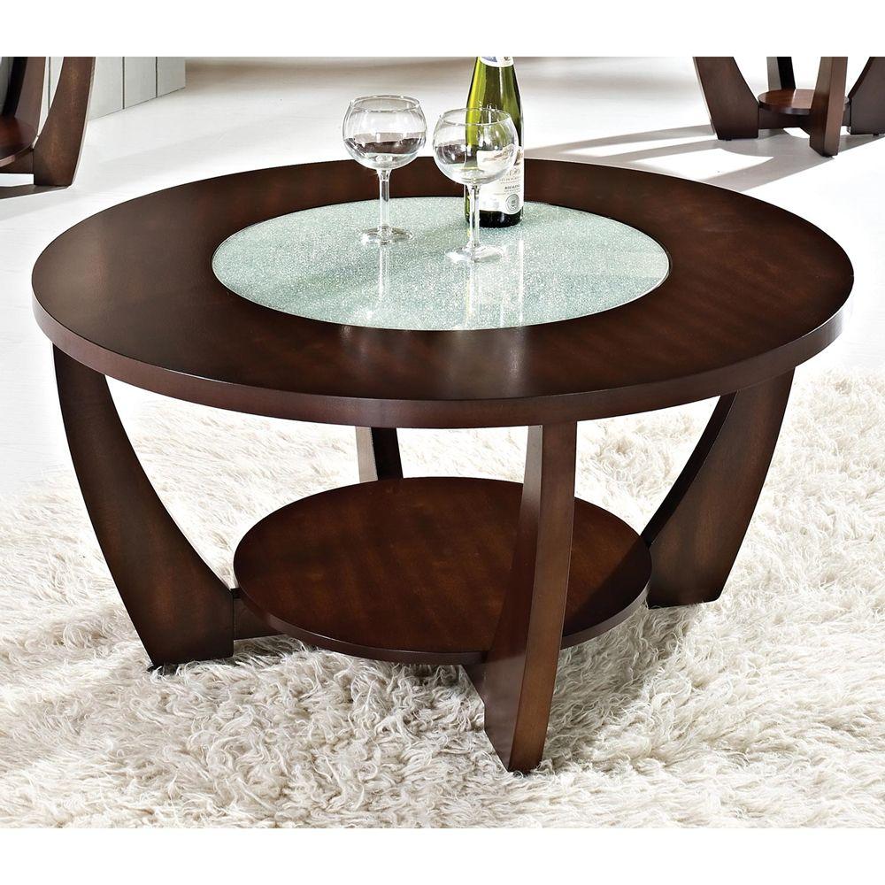 Cherry Wood Coffee Table With Glass Top Meja Sofa Meja Kopi Mebel [ 1000 x 1000 Pixel ]