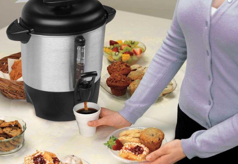 Hamilton Beach 40 Cup Coffee Maker Dispenser 29 At Walmart In 2020 Coffee Maker Hot Beverage Dispenser Coffee