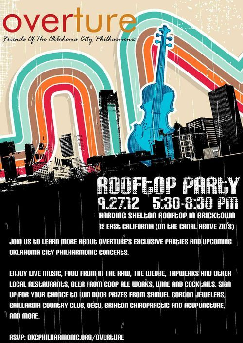Free Rooftop Party In Okc This Thursday Night 9 27 Rooftop Party Rooftop Party
