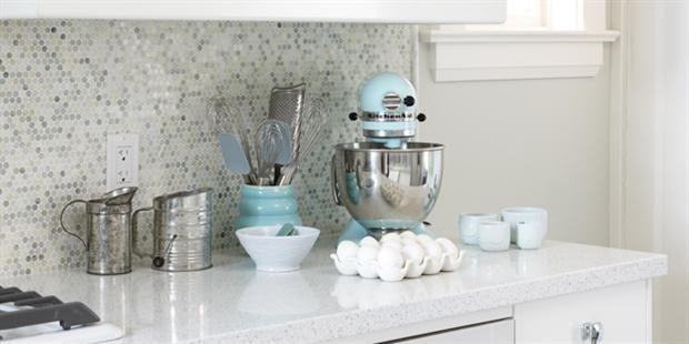 Bakeru0027s Kitchen; Sarah Richardson Pretty Backsplash And The Kitchen Sounds  Like A Dream