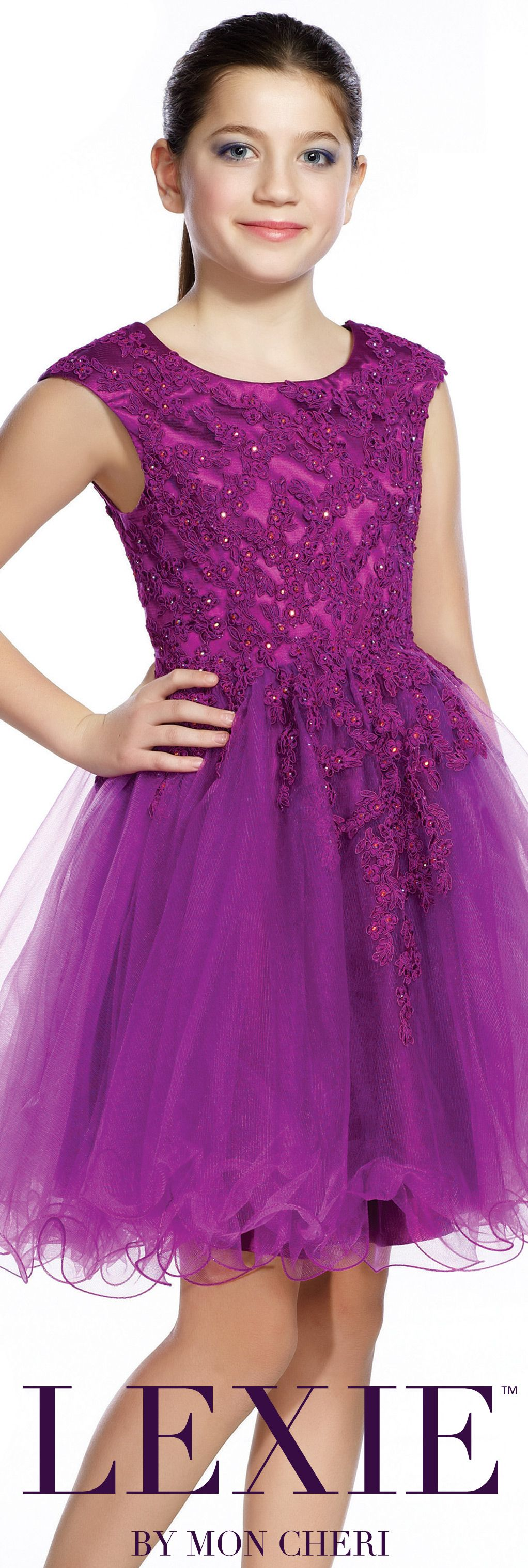 Lexie by mon cheri tween formal dress style no for How much are mon cheri wedding dresses
