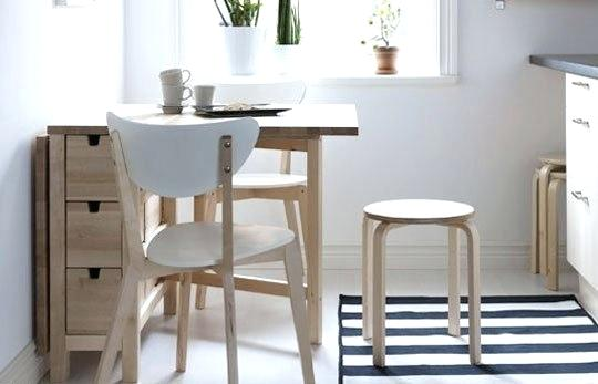 "Kitchen Tables Ikea Canada Incredible Small Table Space Idea From An Apartment Therapy I K E A And Chair For Two Dining Chairs ̆Œí˜• ̋íƒ ̝´ì¼€ì•"" Ì'이식 ͅŒì´ë¸"""