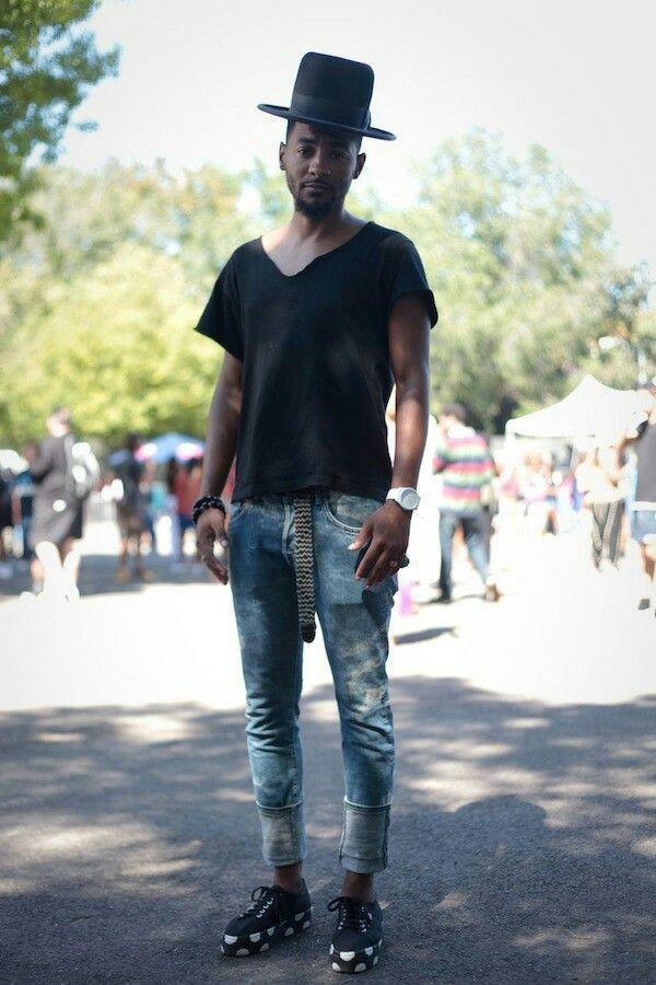 #AfroPunk #chic #Fashion #oxfords