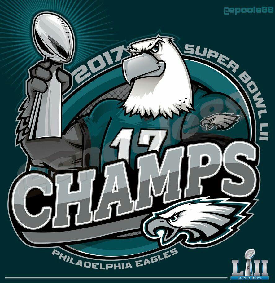 Philadelphia Eagles  2017 NFL Super Bowl 52 Champions  92f60d621