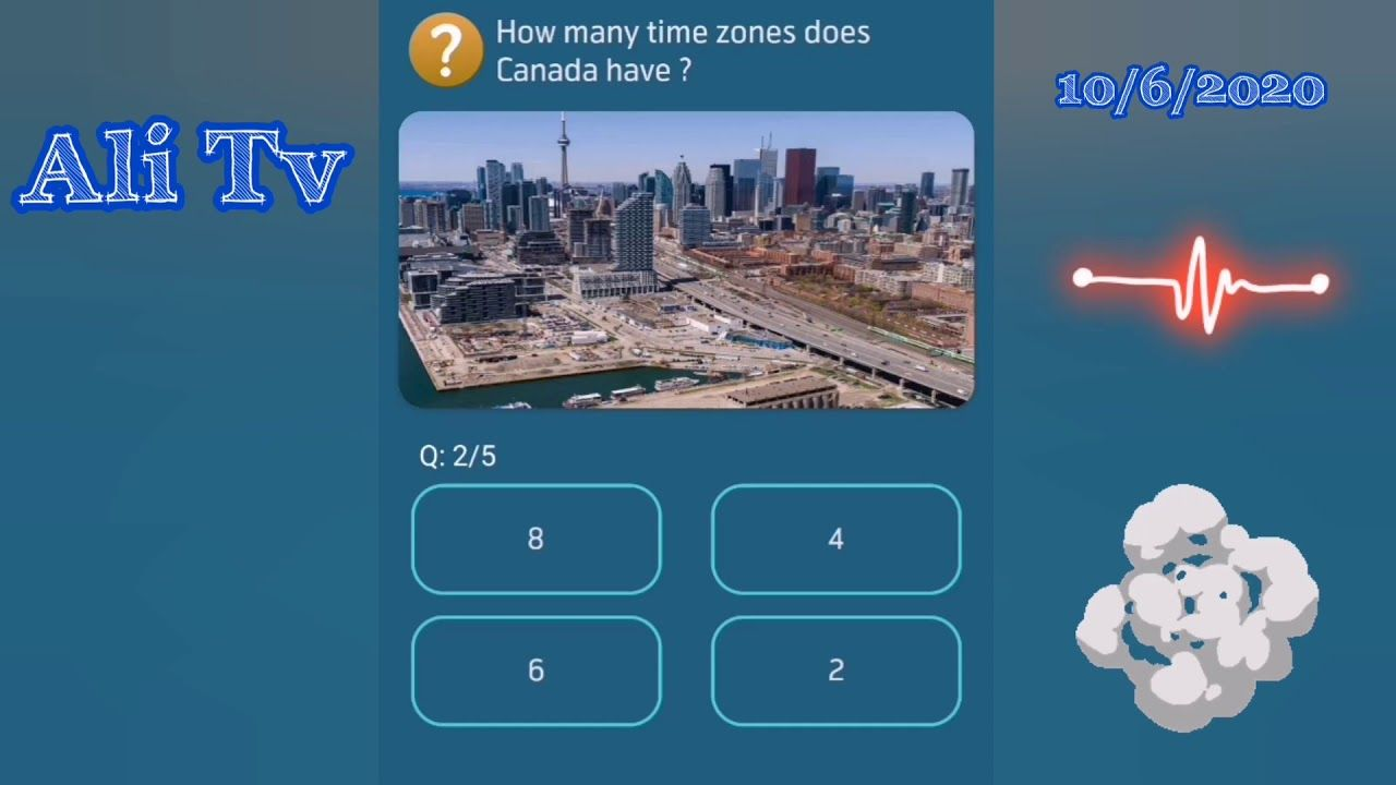 How Many Time Zones Does Canada Have Ali Tv In 2020 Time Zones App Play This Or That Questions