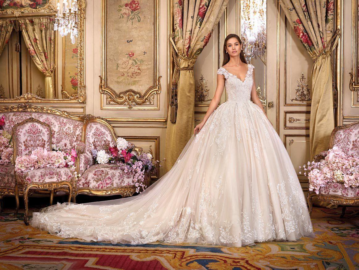 478eeb4abb4b Demetrios Platinum The Royal Romance Collection Antoinette