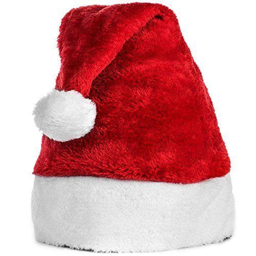 Official Plush Kids Santa Hat