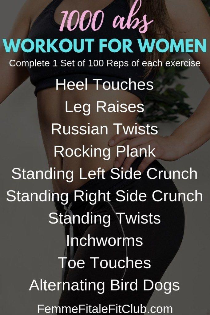 1000 Abs at Home Workout For Women #abs #flatabs #sexyworkout #weightlossforwomen #athomeworkoutforw...