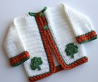 Ravelry: Cherise Baby Cardigan PDF14-128B pattern by Maria Bittner paid pattern...looks pretty easy.