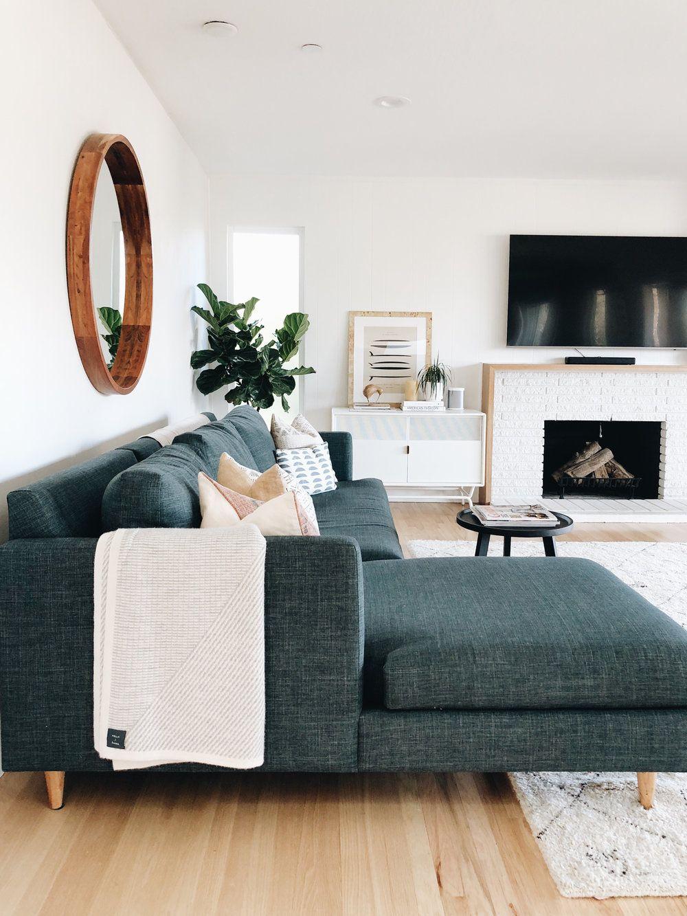 living room design by Katie Monkhouse #livingroomideas ...