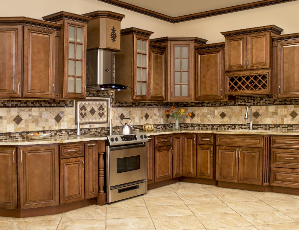 All Solid Wood Kitchen Cabinets Geneva 10x10 Rta Ebay Solid