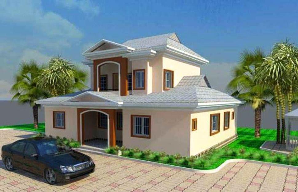 nigeria floor plans houses with balconies on top Yahoo Image