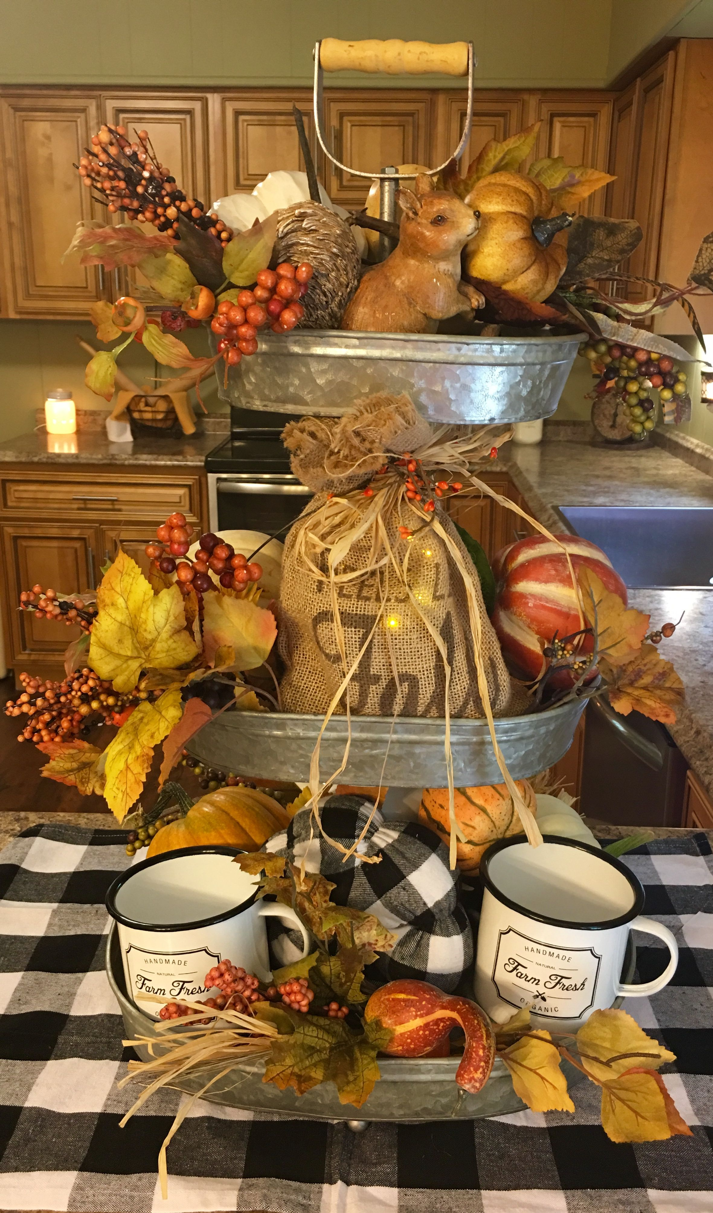 Pin by Susan Bowles on Farmhouse decorating Tiered tray
