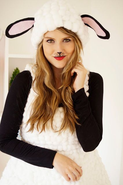 easy funny cat makeup for kids and adults images Holidays - cute cat halloween costume ideas