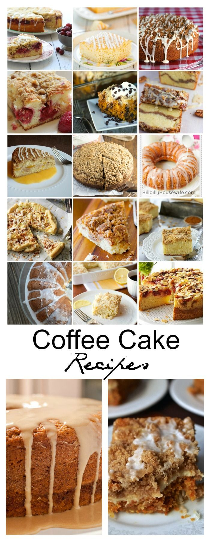 Cake recipes with coffee in them