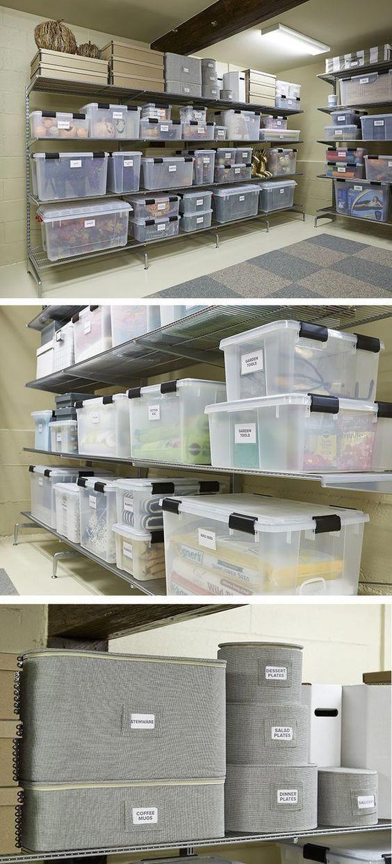 HOW TO START RENOVATING YOUR BASEMENT? Basement storage