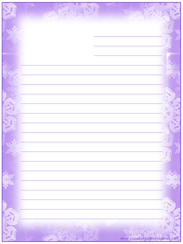 Doc650850 Lined Stationary Paper Free Printable Stationery – Lined Stationary Template