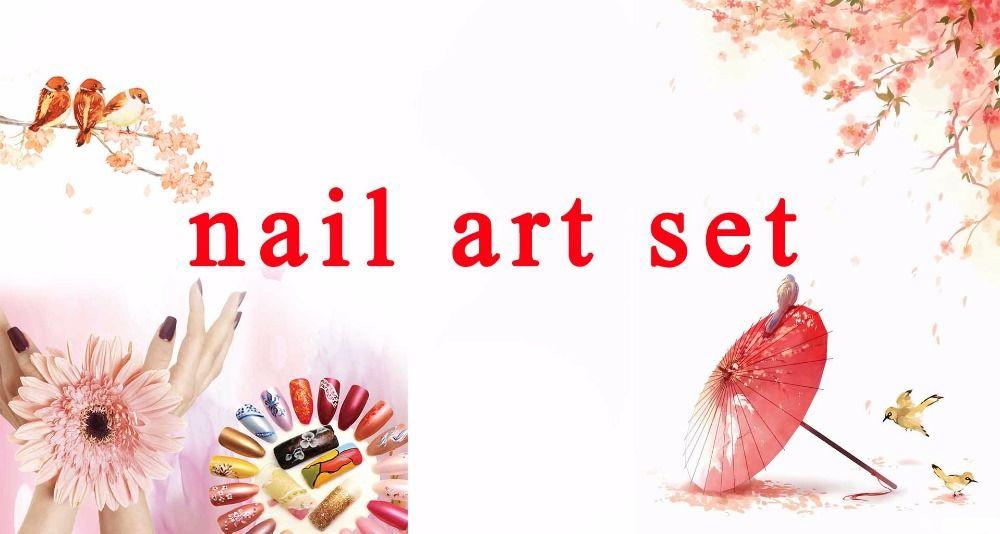 Nail Art tools manicure sets 36W UV LED LAMP nail dryer 12 color ...