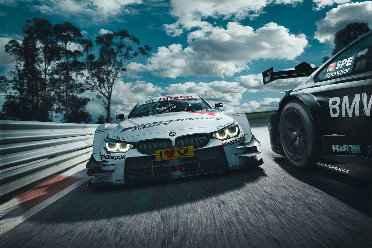 International DTM Motorsport Season Start 2016.Art Director: Nicolas Klein