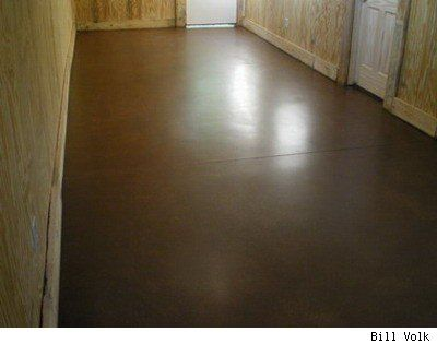 Staining And Sealing Concrete Stained Concrete Diy