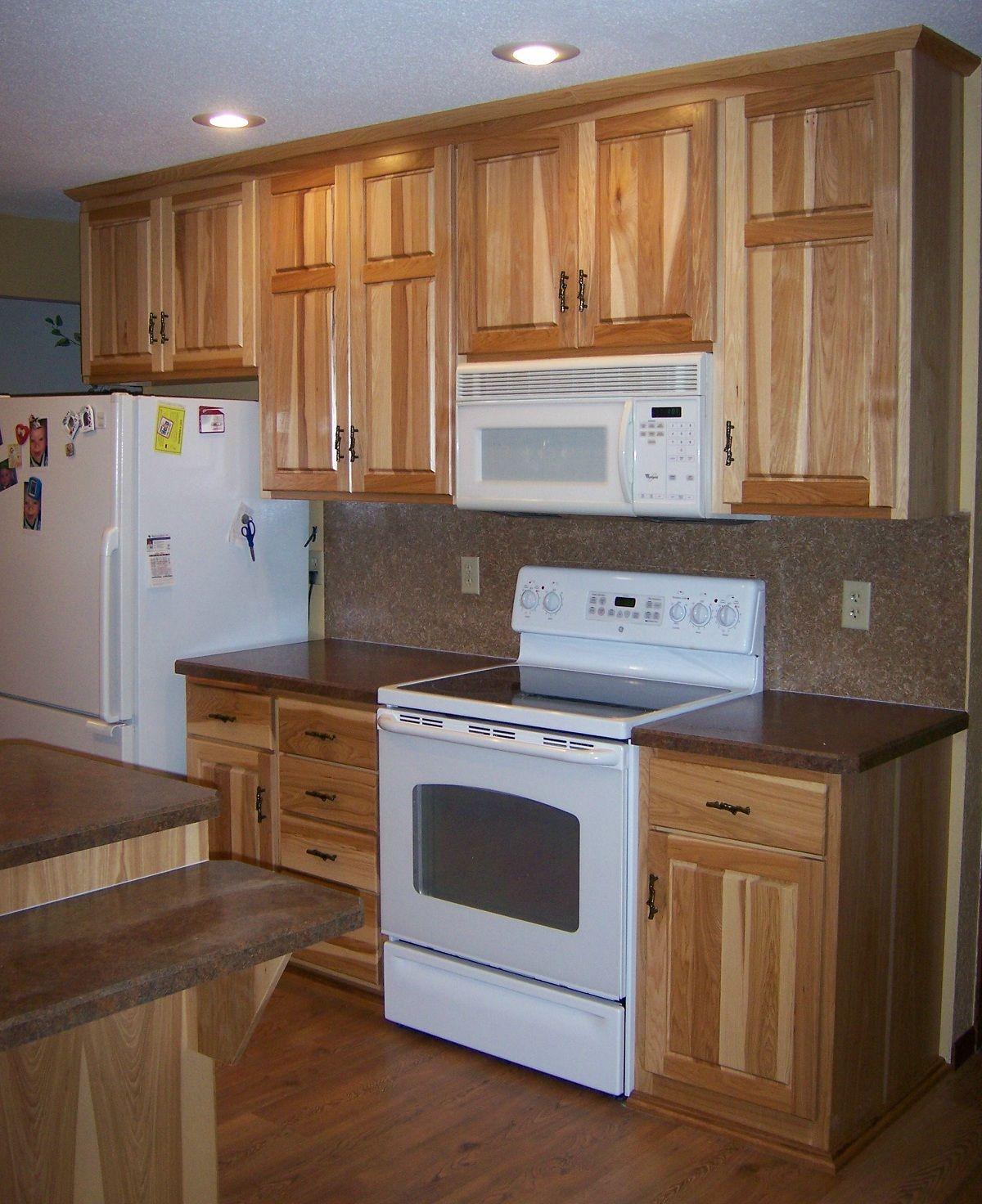 Custom Kitchen Cabinet Designs: Hickory Kitchen Cabinets