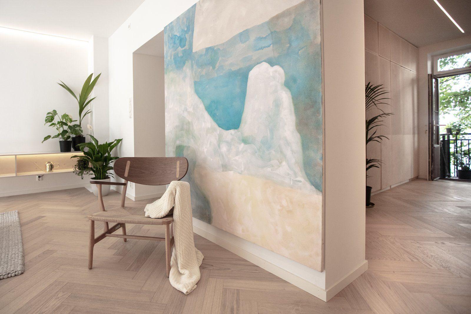 Master bedroom hardwood floors  ScandinavianJapanese concept home in Oslo city center  Hogar dulce