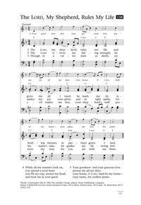 Crimond Welsh Tune The Lord My Shepherd Rules My Life Includes Descant Hymnary Org I Have Sung The Descant Several Times With Tune Music Score Chorus