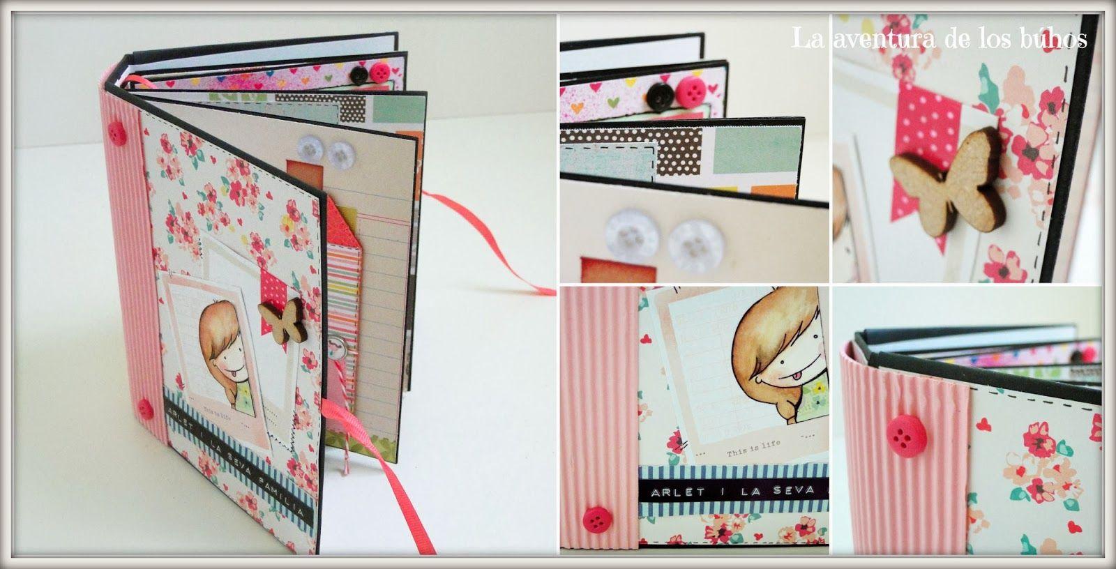 Mini lbum mini lbum cuento mini lbum titeres - Como hacer un album scrapbook ...