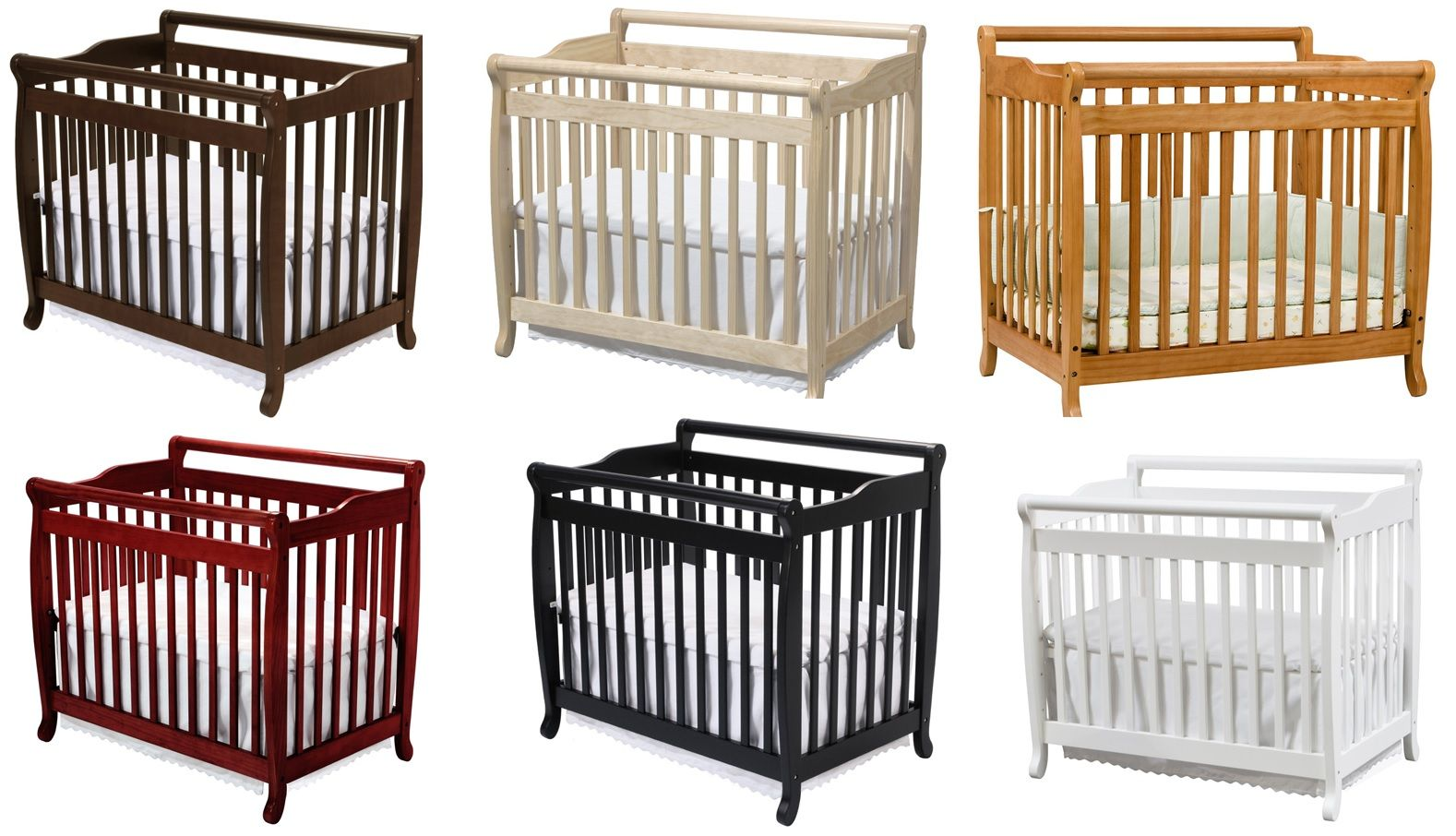 The DaVinci Emily Mini Crib is a small baby crib that is ...