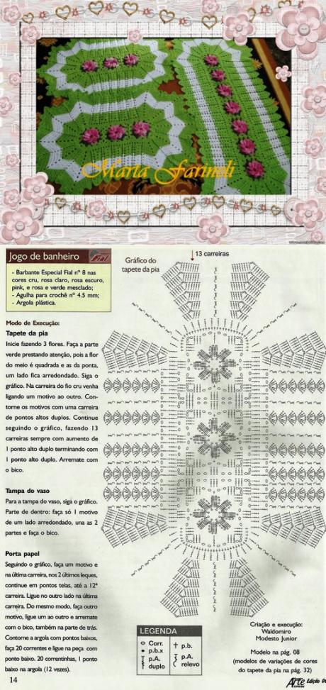 LOS TAPICES PEQUEÑOS Y LA SENDA POR EL GANCHO | Crochet navidada ...