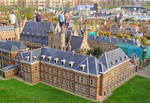 The Binnenhof has been the centre of government of the Netherlands for centuries.