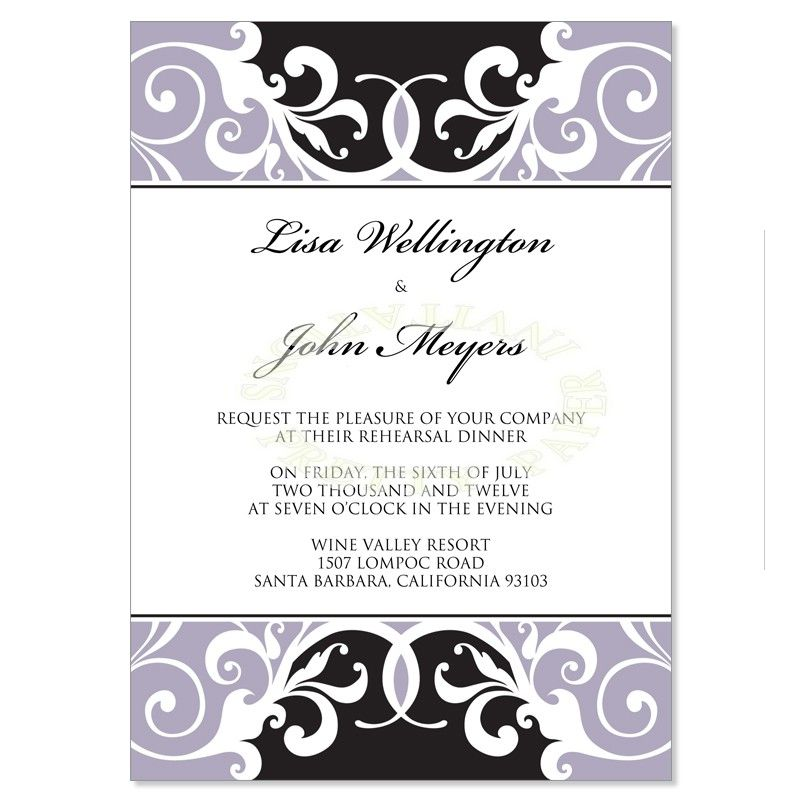 Wedding Rehearsal Dinner Invite Wedding Gallery Pinterest - dinner invite templates