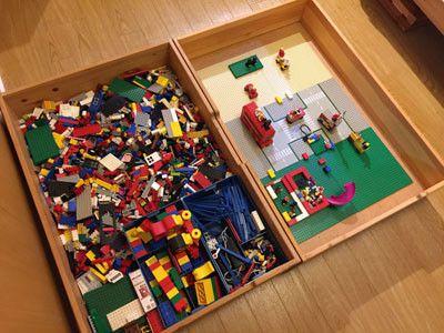 片付けも簡単 すぐに遊べる レゴのオススメ収納方法を紹介します