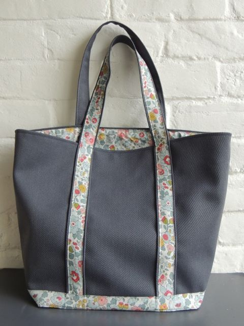 Patron couture sac cabas vanessa bruno sacs pinterest - Tuto grand sac cabas ...
