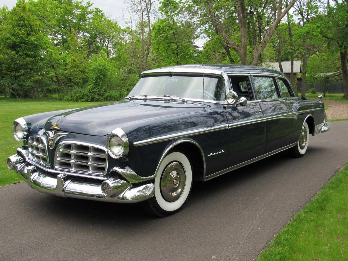 Classic 1955 imperial crown sedan offered for auction mill hall pennsylvania walter p chrysler formed chrysler corporation in 1924 and