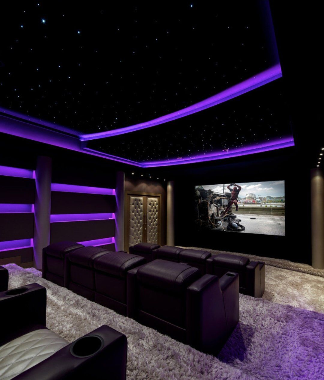Home Theater Interiors Small Home Theater Room Design: Home Cinema Room Image By Chinyere On Future