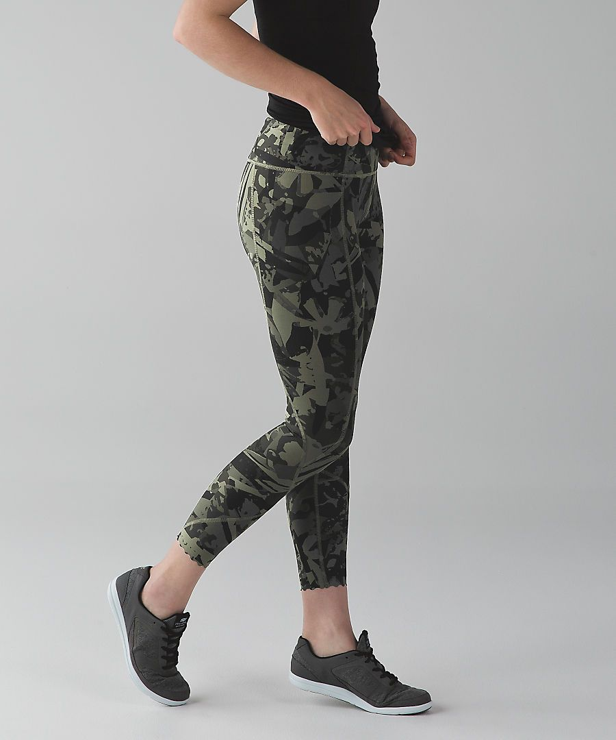 e61ee91ee6085 Where to buy stylish printed workout pants for Summer 2016 | @lululemon  tight stuff tight leggings