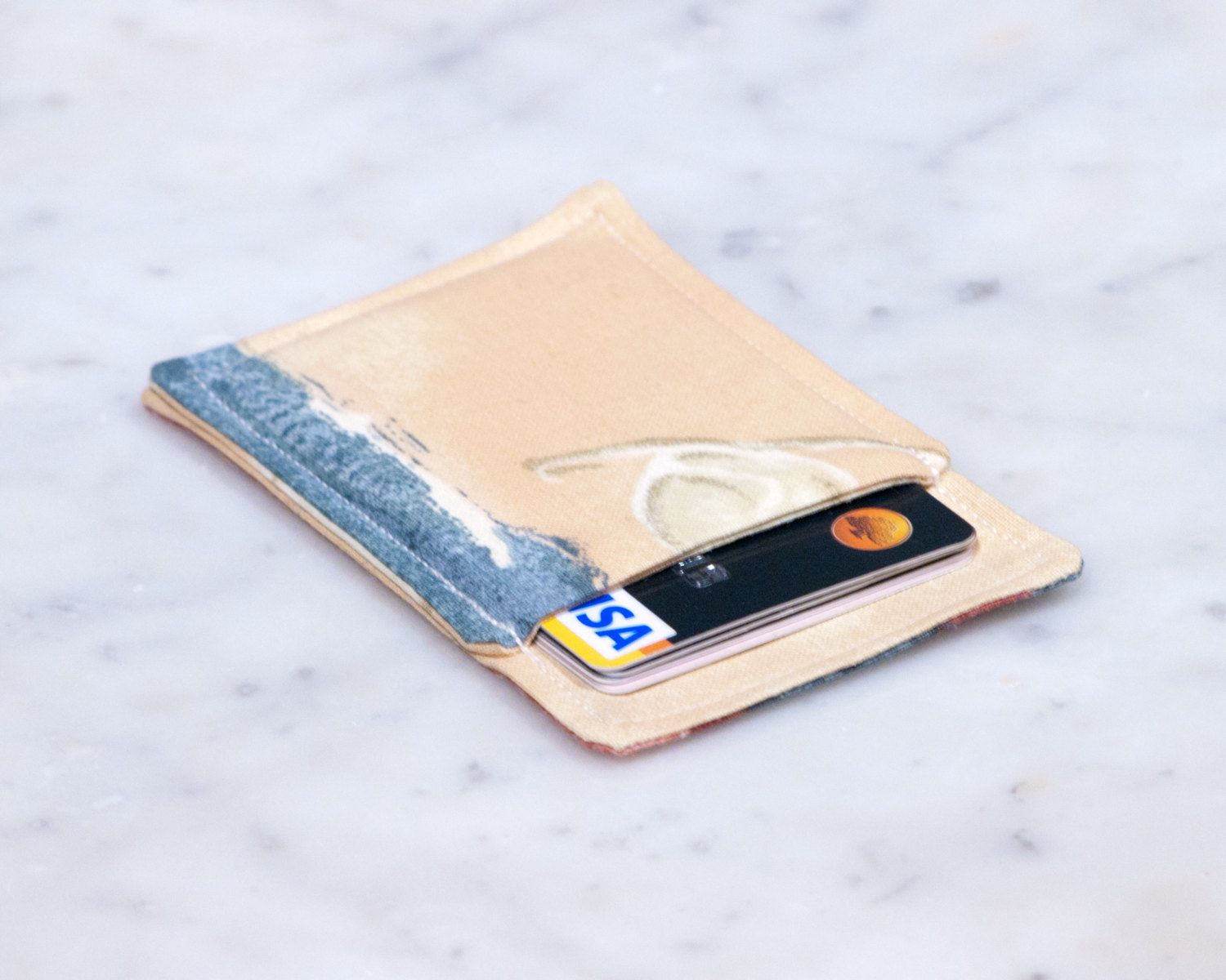 New to Chockrosa on Etsy: Minimalist wallet - Credit card wallet ...