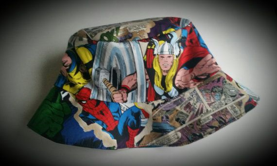 New Avengers Bucket Hat for Kid s Beach Hat Party by PartyMart  2455fb3a3da
