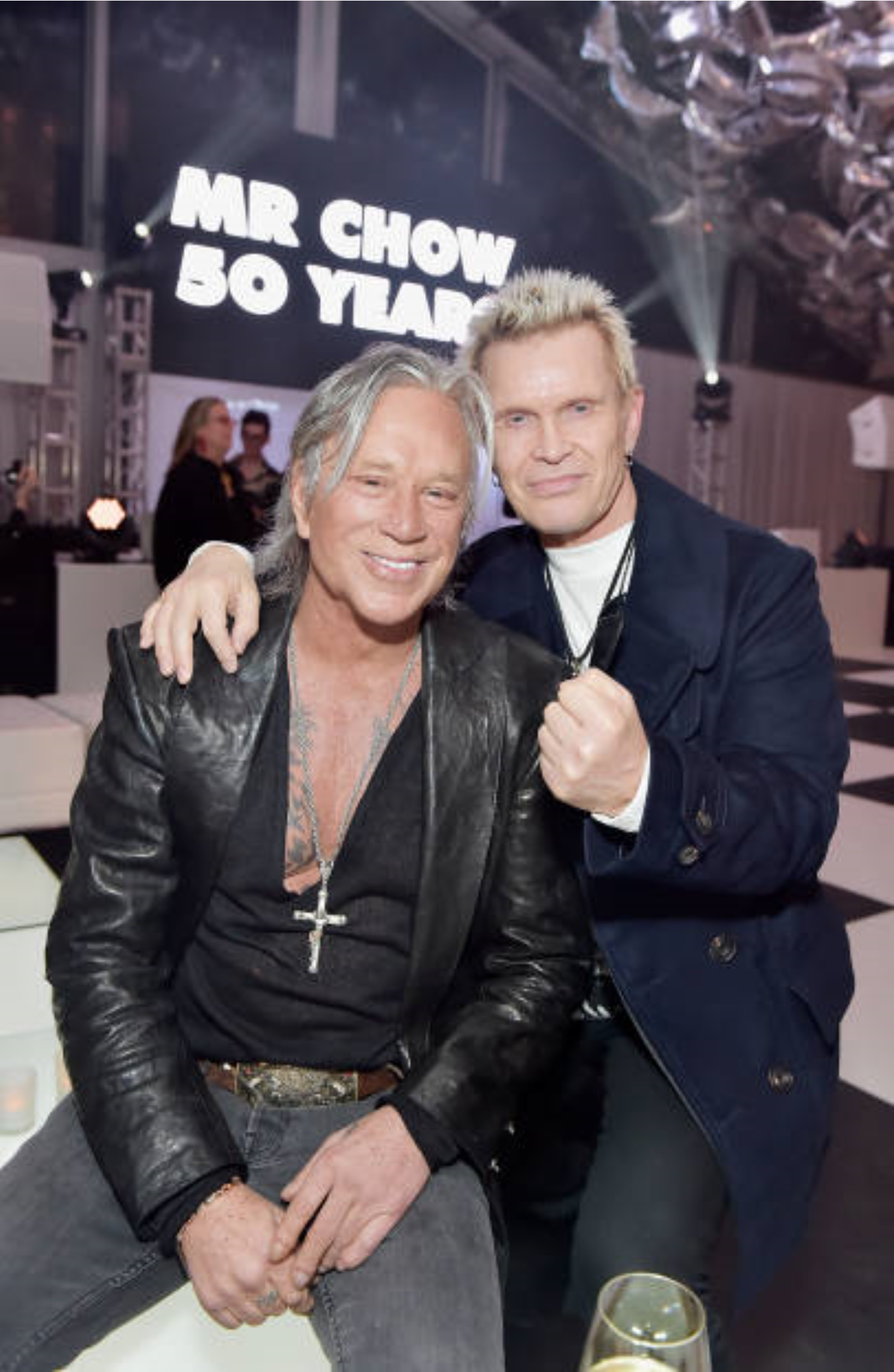 Mickey Rourke and Bill...