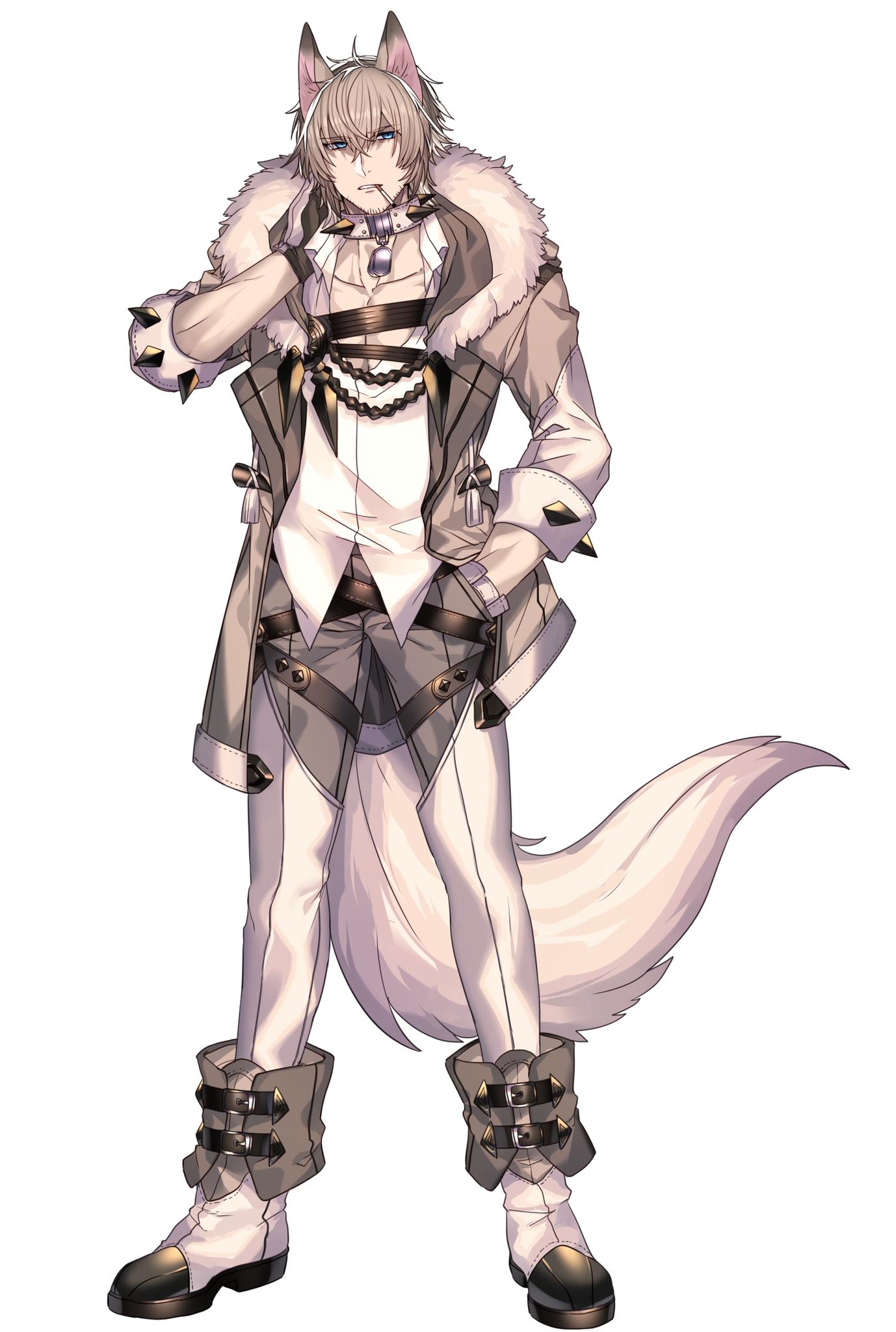 парень волк рисунок терракотовое платье