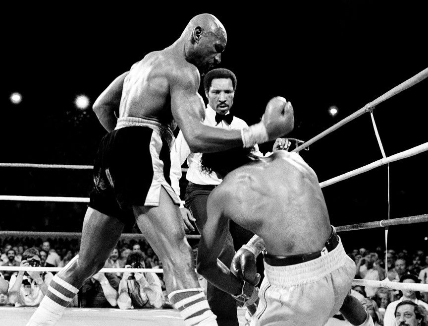 "They called it ""the war."" It would only last eight minutes. By the end, Hagler would leave bloody, but victorious. In what many believe to be one of the greatest first rounds ever, both Hagler and Hearns emerged from their corners and began throwing a litany of punches into each other's heads."