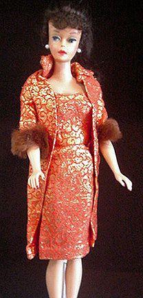 Vintage Barbie Golden Elegance | Vintage barbie, Barbie fashion, Fashion