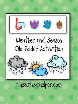 Directions With Weather : directions, weather, Weather, Season, Folder, Activities, Activities,, Preschool, Weather,, Folders