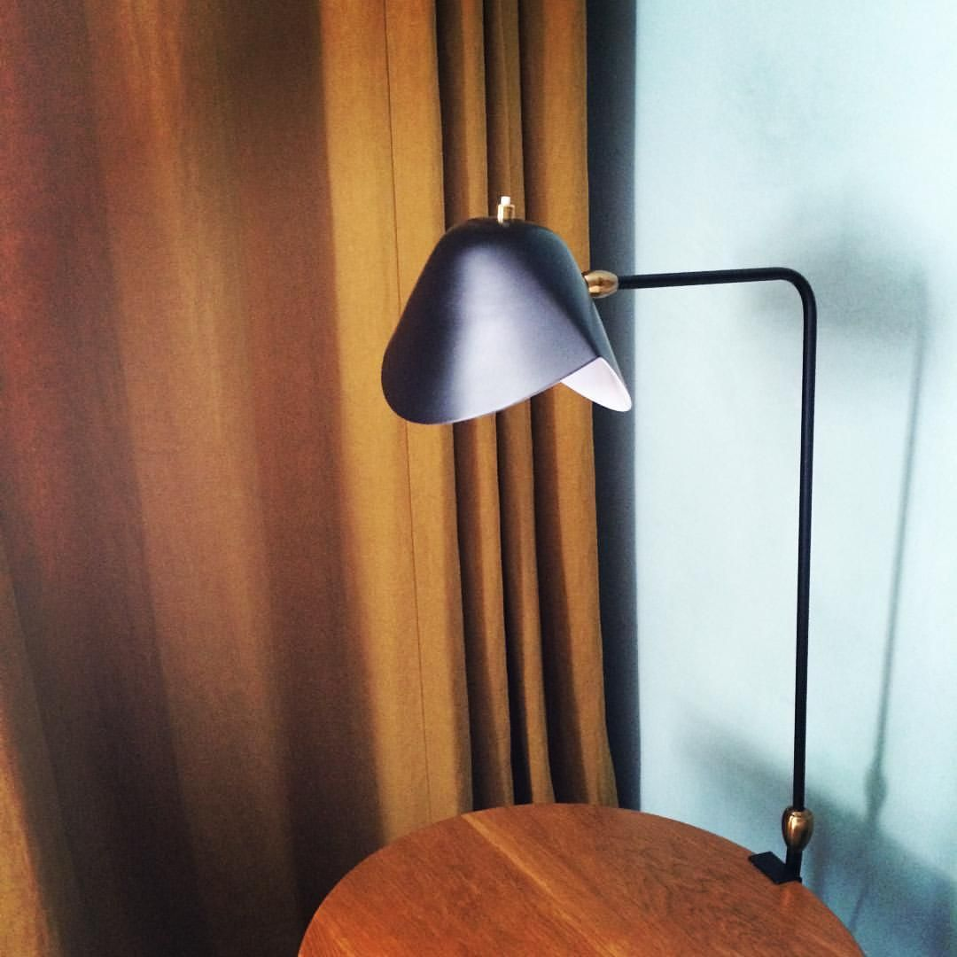 Lampe Agrafe Double Rotule Serge Mouille Lampe Mouille Sergemouille Lamp Desk Lamp Table Lamp