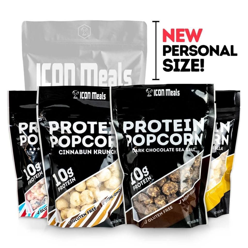 Personal Size Protein Popcorn Starter Pack
