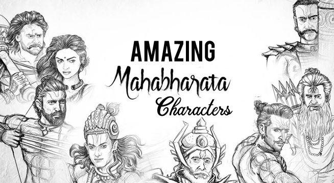 S S Rajamouli Mahabharata Imaginary Character Sketches See Pics