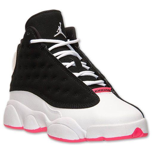 best website 73e18 cab33 Girls' Grade School Air Jordan Retro 13 Basketball Shoes ...